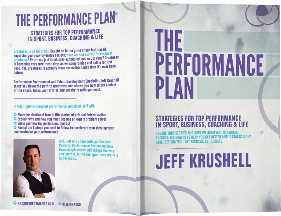 3d mockup of The Performance Plan ebook design by SAVIAN