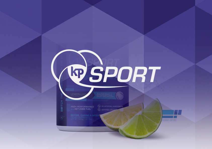 KP Sport - Product and label design banner by SAVIAN