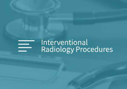 University of Alberta - Interventional Radiology Procedures logo over a teal gradient photo of a stethoscope. SAVIAN - Edmonton Web Design and Development